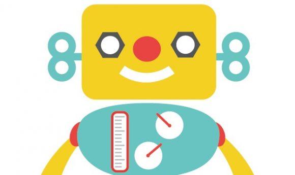 会話用ロボットのイメージイラスト