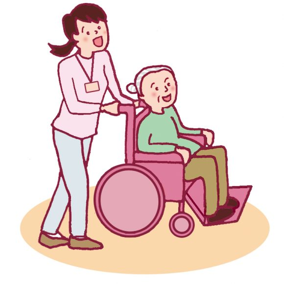 親族介護の経験をいかしてお年寄りを介護している人