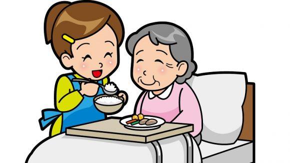 未経験の介護士でも三大介助の一つ、食事介助ができるんです。