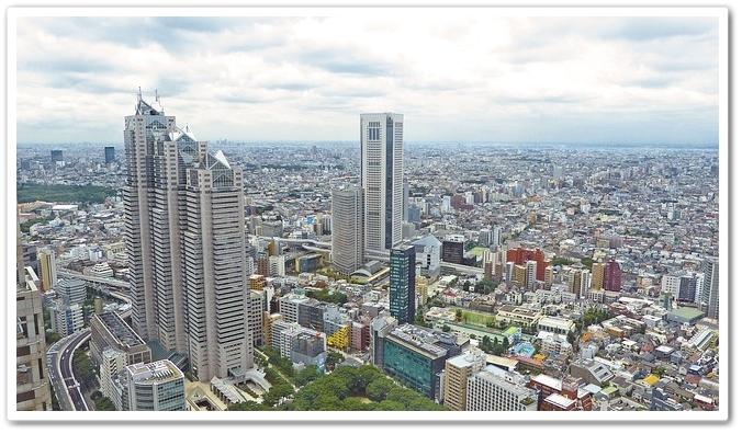 日本の都市部